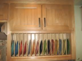 Plate Rack Kitchen Cabinet by Cabinet Accessories Plate Rack