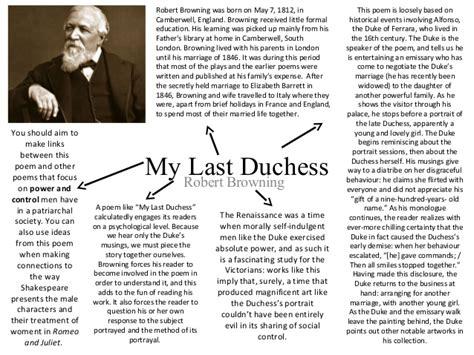 My Last Duchess Essay by Robert Browning My Last Duchess Essays