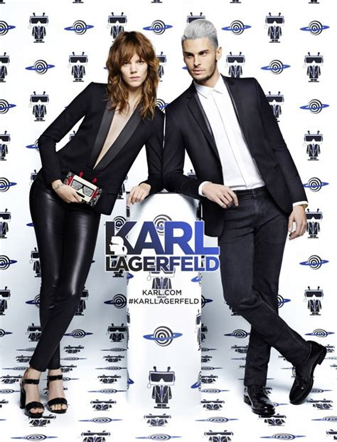 K By Karl Lagerfeld The 2008 Advertising Caign by Freja Beha Baptiste Giabiconi For Karl Lagerfeld Ss16