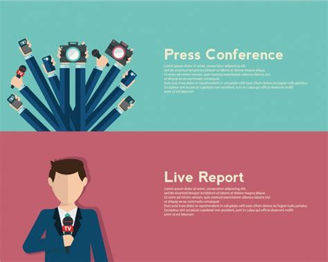 design journalists journalismus banner gesetzt download der kostenlosen vektor
