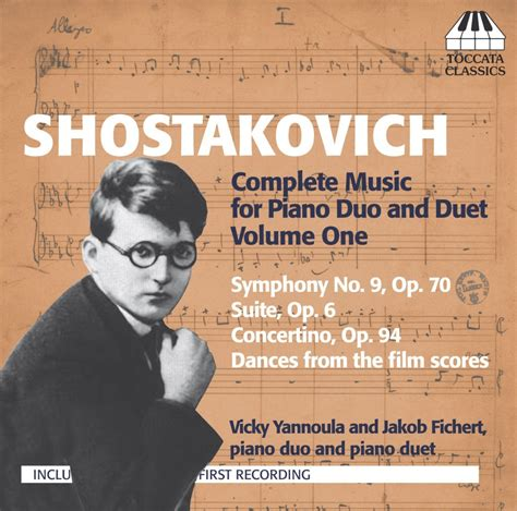 deeper the duet volume 2 shostakovich complete for piano duo and duet