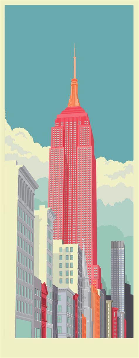 york city illustrations  remko heemskerk