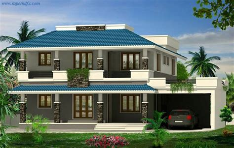 Kerala Model House Plans With Elevation Kerala Model House Elevation Superhdfx