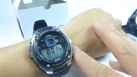 Casio Standard Ae 2000w 1a ä á ng há casio standard ae 2000w 1av