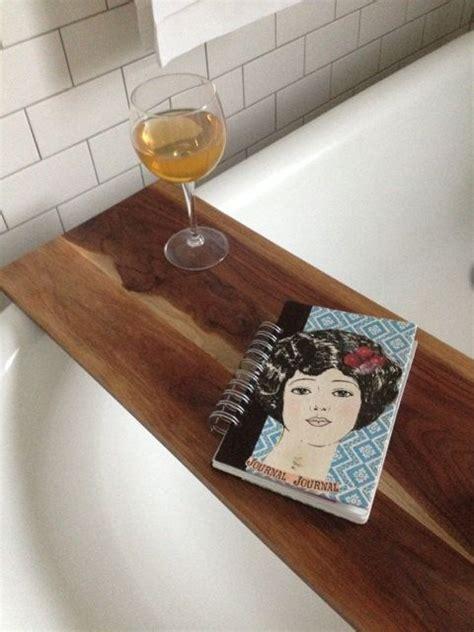 bathtub shelf tub caddy bathtub tray wood bathtub and walnut wood on pinterest