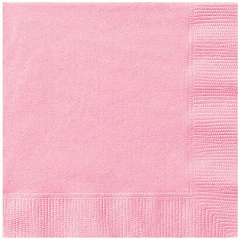 light pink paper dinner napkins light pink paper napkins 50ct association for