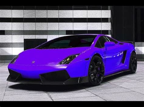Lamborghini Gallardo Purple Saints Row 4 Bugatti And Lamborghini