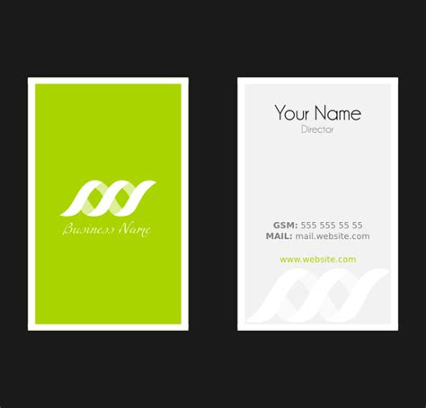 busines card templates business card template clip at clker vector clip