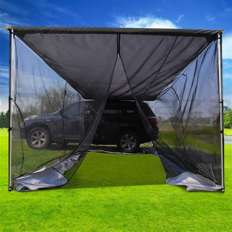 4wd shade awning 2m 3m car awning extension side awning sun shade camper
