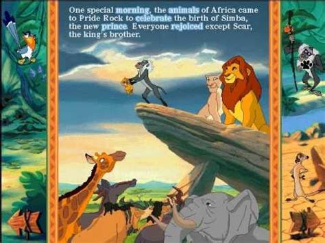 Disney Comics The King Read And Play disney animated storybook the king part 1