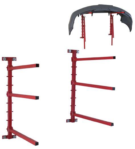 bumper racks wall mount bumper rack pro teksprayequipment com