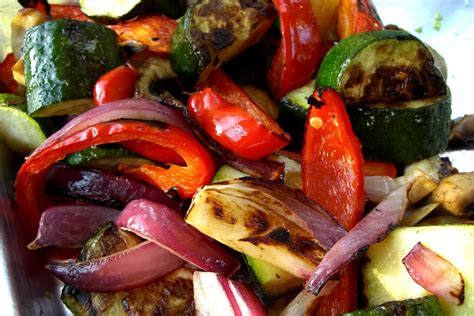 vegetables on the grill domesticity nouveau grilled vegetables