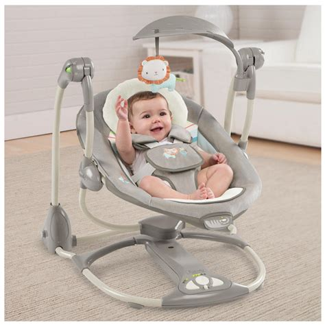baby electronic swing baby electronic smart bouncer cradle swing ingenuity