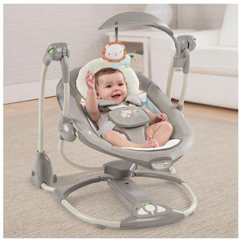baby annabell electronic swing baby electronic smart bouncer cradle swing ingenuity