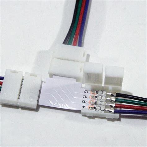 Led Kabel led rgb verl 228 ngerung verbinder anschluss kabel led rgb leiste e streifen ebay