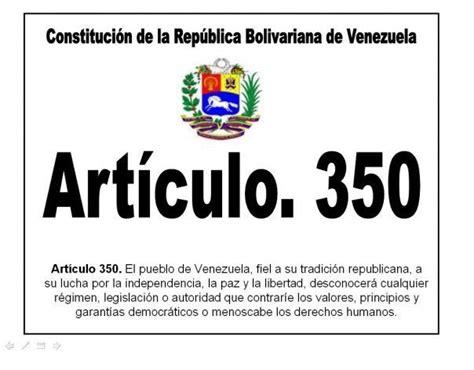 articulo 25 de la constitucion bolivariana de venezuela alianza venezolana holandesa por la democracia 161 abajo el