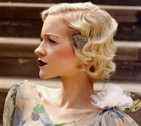 1920 S Pin Up Hairstyles by 1920s Finger Waves And Pin Curls Hairstyle Tutorial