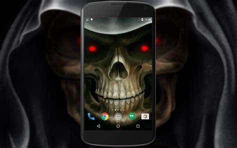 skull apk skull 3d live wallpaper android apps on play