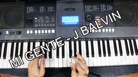j balvin ukulele j balvin mi gente tutorial piano acordes para cantar