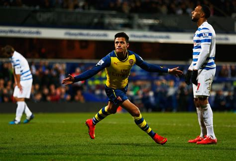 alexis sanchez vs qpr alexis sanchez photos photos queens park rangers v