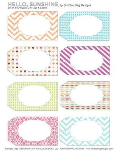 printable name tags for spring free printable spring tags add a name and laminate super
