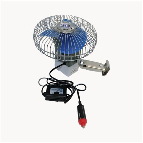 6 inch oscillating fan deluxe oscillating 6 inch fan 12 volt 4x4 caravan boat car