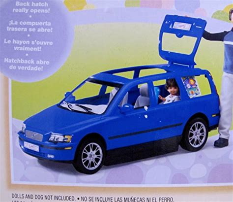barbie cars with back seats barbie happy family volvo v70 vehicle van suv w 2 car