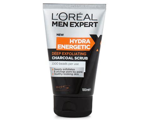 Scrub L Oreal catchoftheday au l or 233 al expert hydra energetic exfoliating charcoal scrub 100ml