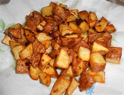 man that stuff is good fried potatoes aka fried taters