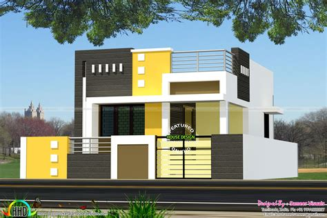 Small Home Plans 2017 1200 Square Single Floor Tamilnadu Home Kerala Home