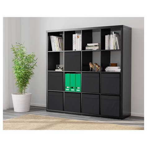 ikea kallax schublade kallax dr 214 na shelving unit with 8 inserts black brown