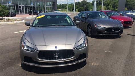 Maserati Ghibli Comparison by Comparison Maserati Grigio Vs Grigio Maratea