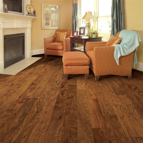 Distressed Hickory Laminate Flooring - distressed brown hickory laminate flooring