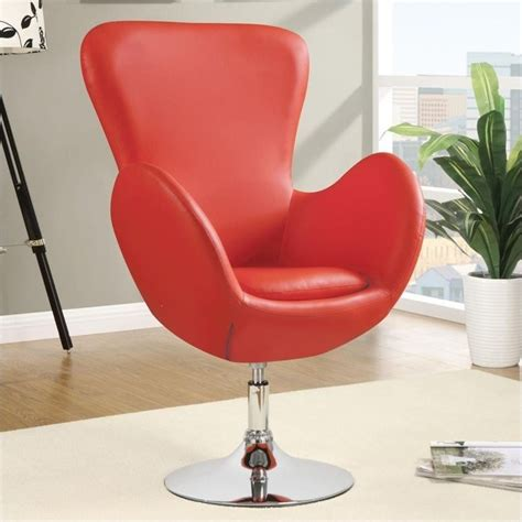 coaster leisure swivel chair in 902101