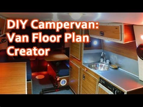 Amazing Tool: Design Online your DIY Camper Van YouTube