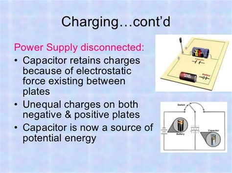 capacitor with unequal charge tech skills capacitor 07 21 11