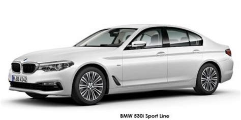 new bmw 5 series 520i sport line up to r 20,000 discount