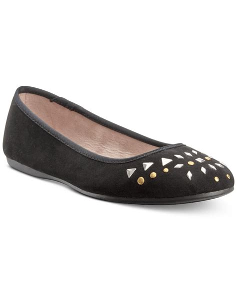 macys shoes for lyst style co aleea embellished flats only at macy s