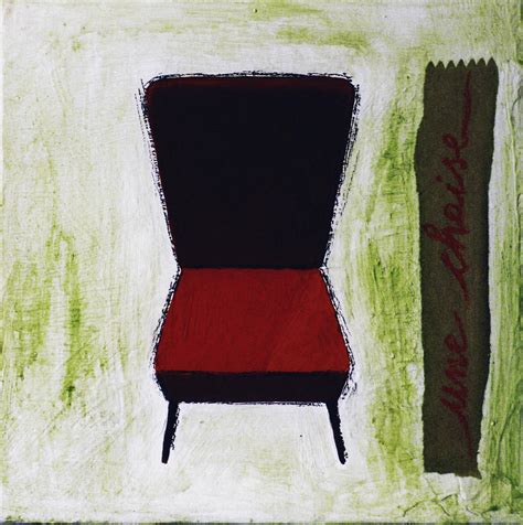 une chaise une chaise painting by laura ragazzi
