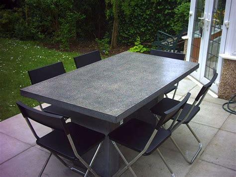 polished concrete table top polished concrete table tops paul davies design