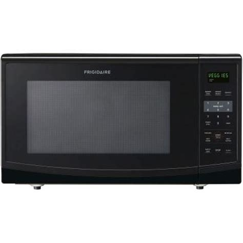 frigidaire 2 2 cu ft countertop microwave in black