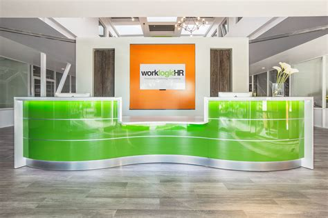 designer reception desk reception desks furniture design modern office salon