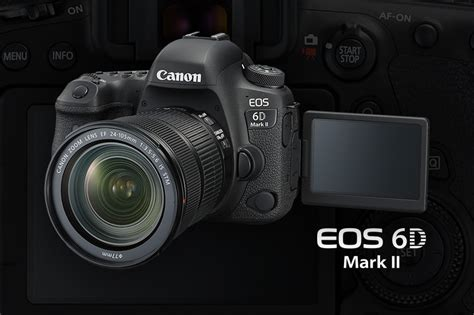 Flash Kamera Canon Dslr canon s new eos 6d ii firs with no builtin flash and vari angle touch operable