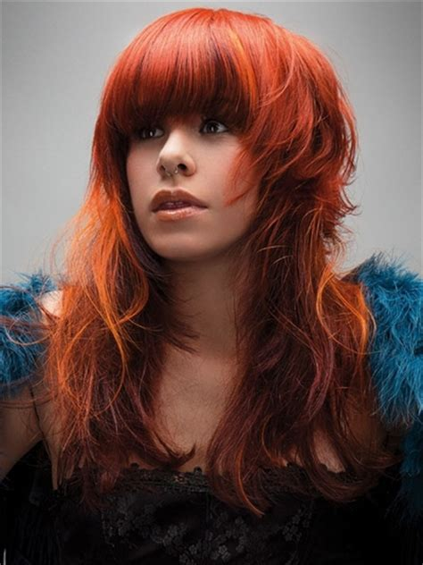 haircut on long red hair cut to a pixie cut women trend hair styles for 2013 layered long hairstyles