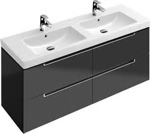 Black Vanity Sink Subway 2 0 Waschtischunterschrank A69900 Villeroy Amp Boch