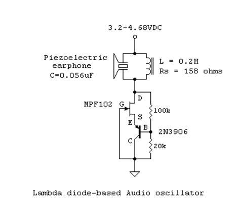 negative resistance diode list oscillations and regenerative lification using negative resistance