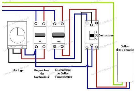 horloge electrique schema electrique horloge