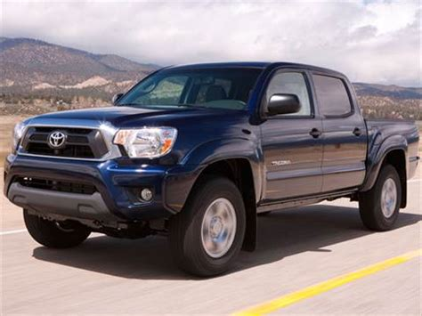 2012 toyota tacoma double cab pricing ratings reviews kelley blue book
