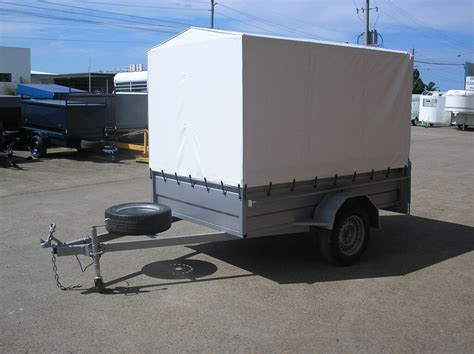 Trailer Canopy 8x5 Trailer With 1200mm Cage And Vinel Canopy 2 Pbl