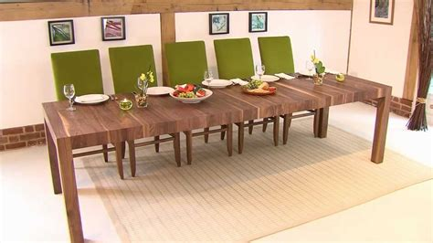 Table Runners For Dining Room Table by Rectangular Extending Table Youtube